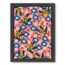 Summer Floral Printed Wall Art