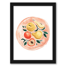Fruit Plate Printed Wall Art