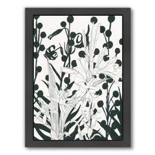 Floral Vintage Printed Wall Art
