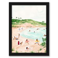 Beach Day II Printed Wall Art