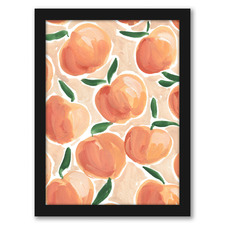 Pretty Peaches Printed Wall Art