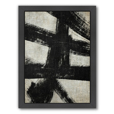 Scratch Abstract Printed Wall Art