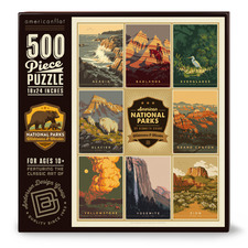American National Parks 500 Piece Jigsaw Puzzle