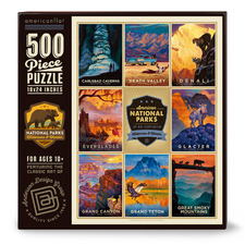 American National Parks III 500 Piece Jigsaw Puzzle