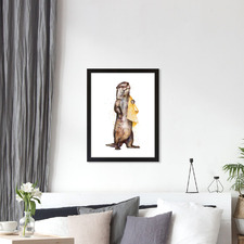 Otter Printed Wall Art