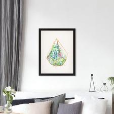 Terrarium 2 Printed Wall Art