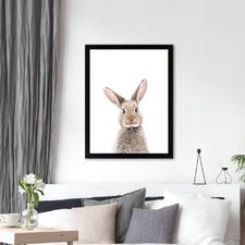 Little Rabbit Printed Wall Art