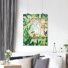 Jungle Swing Printed Wall Art