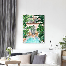 Moroccan Dream Printed Wall Art