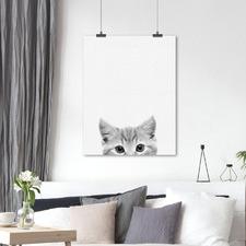 Kitty Printed Wall Art