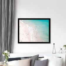 Beach Summer Love Printed Wall Art