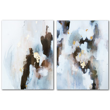 Tell Me the Truth Canvas Wall Art Diptych by Christine Olmstead