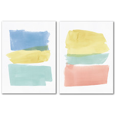 Delectable Canvas Wall Art Diptych by PI Creative Art