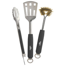 3 Piece Napoleon Stainless Steel BBQ Tool Set