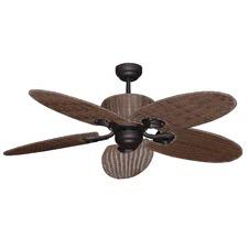 Hamilton 130cm Hamilton 5 Blade Palm Fan in Old Bronze