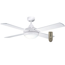 Four Seasons Primo Remote Controlled Ceiling Fan with Light