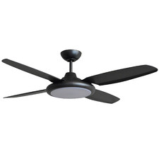 Beret Ceiling Fan with Tri-Colour LED