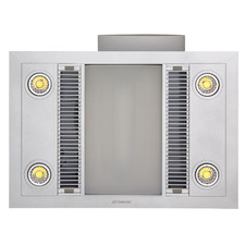 Linear 4 LED Bathroom Heater with Exhaust Fan