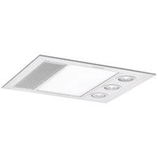Linear 3 LED Bathroom Heater with Exhaust Fan
