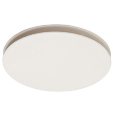 White Flow Round Bathroom Exhaust Fan