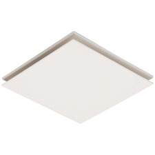 White Flow Square Bathroom Exhaust Fan