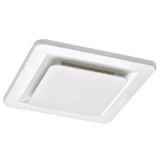 White Tetra II Bathroom Exhaust Fan