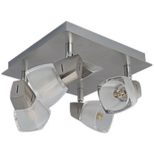 Quartz 4 Light Square Spotlight