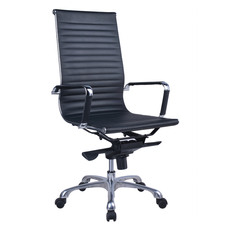 Naples Faux Leather High Back Office Chair