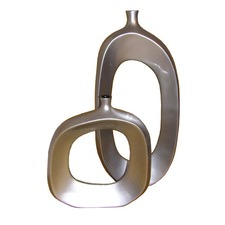 Tubular Lacquerware Vase