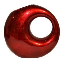 Round Lacquerware Vase