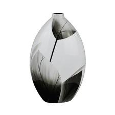 Lacquerware Leaf Vase