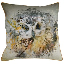 Owl Cotton Cushion