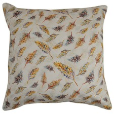 Small Feathers Cotton Cushion