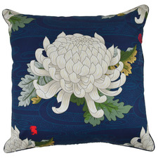 Blue Blossom Rotasu Cotton Cushion