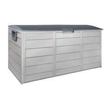 290L Plastic Outdoor Storage Box Container Weatherproof
