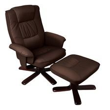 PU and PVC Leather Lounge Chair