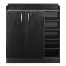 2 Doors Shoe Cabinet Storage Cupboard