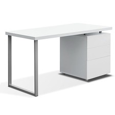 Office 3 Drawer Cabinet Computer Desk