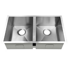 Stainless Steel Kitchen Sink with Strainer Waste
