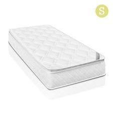 Latex Pillow Top Pocket Spring Mattress Single