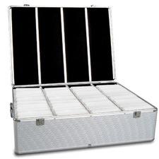1000 Capacity Aluminium CD Storage Case