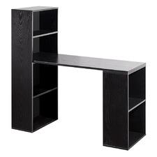 6 Storage Shelf Office Computer Desk