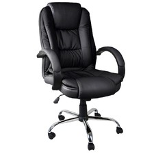 PU Leather Thick Padding Office Chair