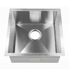Stainless Steel Kitchen Sink with Strainer Waste