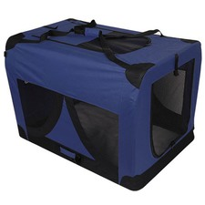 Extra Large Pet Dog Soft Crate Blue