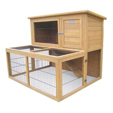 Brand new 2 Storeys Rabbit, Guinea Pig, Ferret Cage Hutch with Built-in Run
