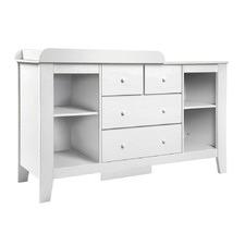 White 4 Drawer Baby Change Table