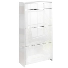 High Gloss Shoe Cabinet Rack
