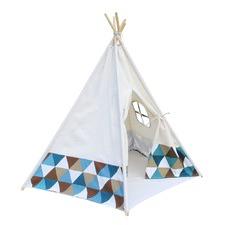 5 Poles Teepee Tent w/ Storage Bag