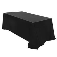 Black 6 Piece Table Cloth Set